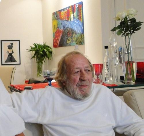 Jornalista José Wolf,
